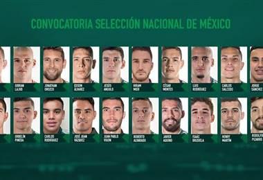 Tomada del Facebook de la Selección Nacional de México