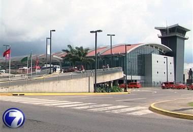 Aeropuerto Juan Santamaría. Foto de archivo.