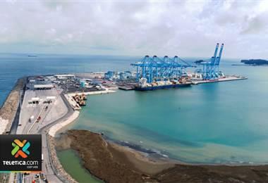 Este jueves quedó oficialmente inaugurada la nueva terminal de contenedores en Moín