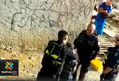 Cuatro policías Fuerza Pública son investigados tras la detención de un hombre en Guararí de Heredia