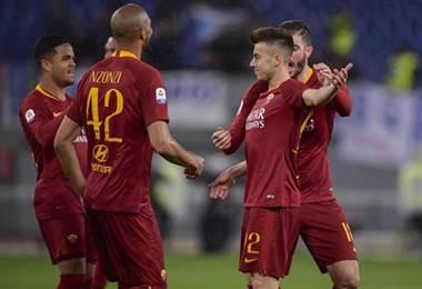Roma gana en el retorno de Ranieri al banquillo romano