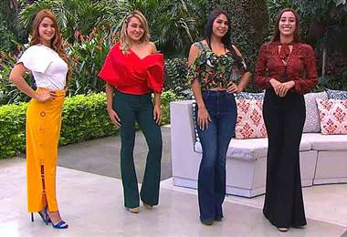 Diferentes estilos de pantalones campana