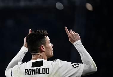 Cristiano Ronaldo, figura de la Juventus.|UEFA Champions League
