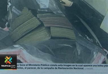 TSE concluye que campaña de Fabricio Alvarado habría recibido bolsas con dinero que no se reportaron