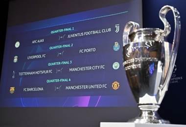 Cuartos de Champions League.|AFP