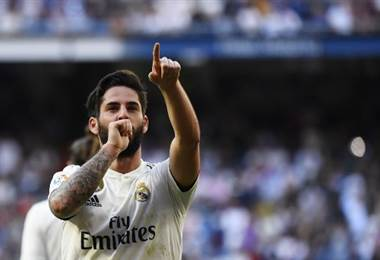 Isco, volante del Real Madrid.|AFP