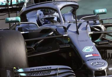Vatteri Bottas, piloto de Mercedes.|AFP