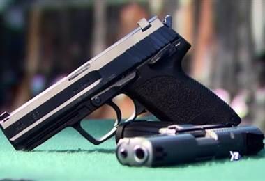 Armas de fuego. Foto de archivo.