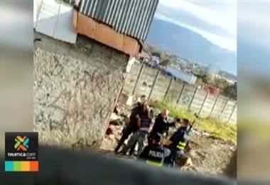 Fiscalía indagó a los 4 oficiales de Fuerza Pública involucrados en golpiza de un hombre en Heredia