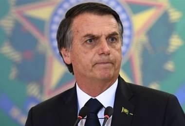 Jair Bolsonaro. AFP