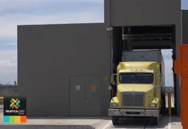 Moderno escáner permite detectar drogas y contrabando en contenedores que ingresan por el Caribe