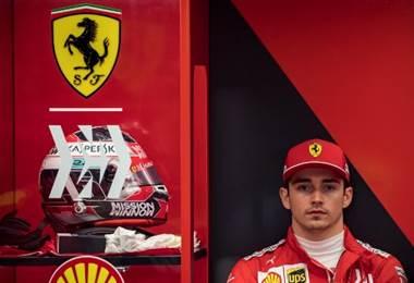 Charles Leclerc, piloto de Ferrari   AFP