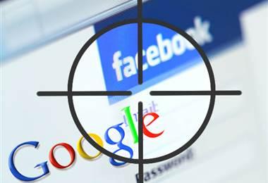 Facebook y Google |Archivo.