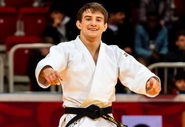 El judoca Ignacio Sancho