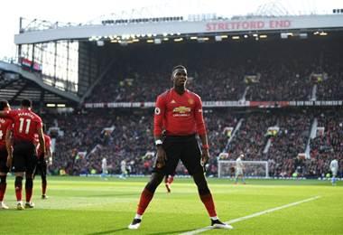 Paul Pogba, jugador del Manchester United | ManU en Twitter