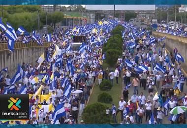 La oposición a Daniel Ortega llama a manifestarse esta Semana Santa