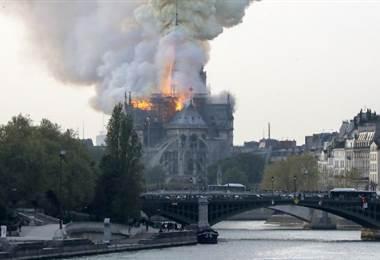 Catedral de Notre Dame. AFP