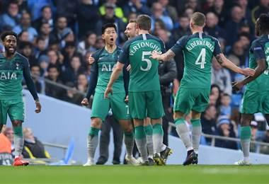 Manchester City-Tottenham - Champions League