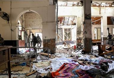 Atentados dejan dos centenares de muertos en Sri Lanka 1 AFP