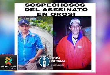 Dos peones nicaragüenses asesinaron a padre e hijo en el corredor de la casa