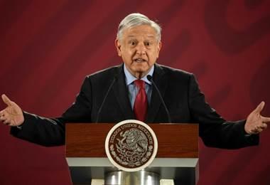 Andrés Manuel López Obrador. Foto AFP