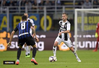 Juventus ante Inter de Milán | Twitter oficial de la Juventus
