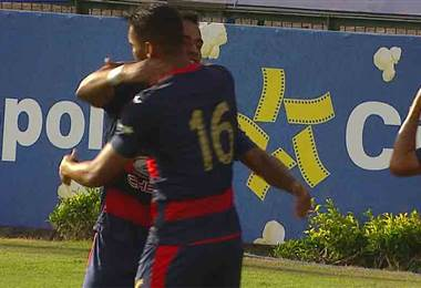 Cartagines vs Santos gol 1