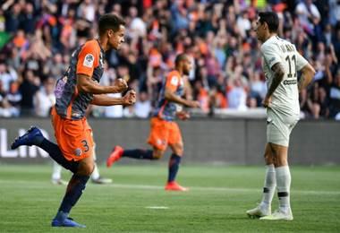 PSG pierde en Montpellier y suma otra decepción