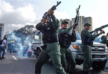Situación en Venezuela se complica. AFP