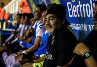 Maradona anuncia que dejará la dirección técnica de los Dorados