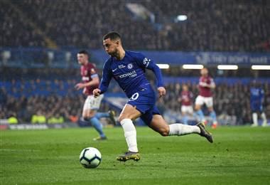 Eden Hazard jugador del Chelsea | Chelsea FC en Twitter