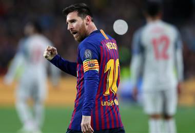 Lionel Messi, jugador del Barcelona | Uefa.com
