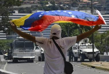 Disturbios en Venezuela. AFP