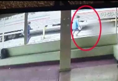 Colegial atropellado por el tren en San Pedro permanece delicado en el hospital