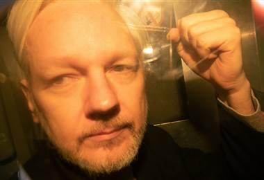 Julian Assange. AFP
