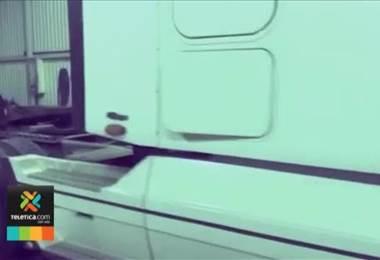 Capturan a un camionero con poco más de 20 kilos de cocaína que llevaba ocultos en un trailer.