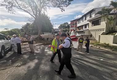 Caída de avioneta en las cercanías del aeropuerto Tobías Bolaños