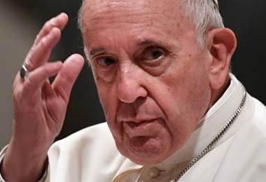 Papa Francisco. Foto AFP