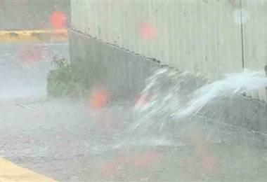 Meteorológico pronostica que las lluvias seguirán afectando el país este fin de semana