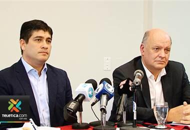 Presidente Carlos Alvarado asegura que Rodolfo Piza todavía no se va