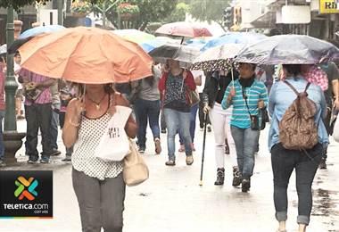 En 10 días se establecerá por completo la época lluviosa en el Valle Central
