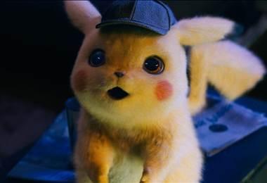 Detective Pikachu. Foto tomada del Facebook oficial de la película