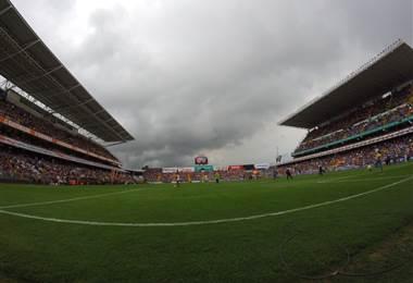 Estadio Ricadro Saprissa. Foto cortesía de Fernando Araya para Teletica.com
