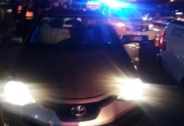 Herido de bala llegó a la Clínica Solón Núñez