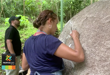 Esfera precolombina del valle Diquís fue sometida a intenso proceso de restauración