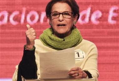 Susana Villarán, exalcaldesa de Lima. Foto AFP