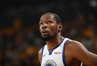 Kevin Durant se perderá al menos el primer partido de los Warriors contra los Blazers
