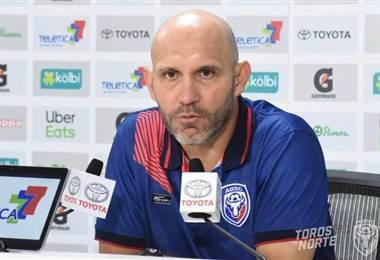Luis Marín, técnico de San Carlos | Prensa San Carlos