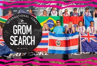Playa Hermosa está lista para recibir el Rip Curl GromSearch 2019