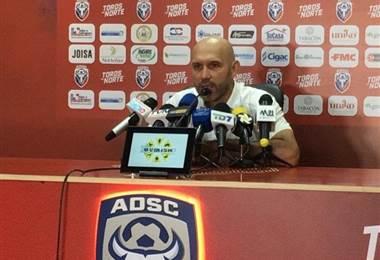 Luis Marín, técnico de San Carlos | Ricardo Cordero
